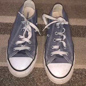 Grey converse for kids (size 1)